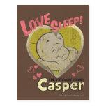 Sueño del amor tarjetas postales
