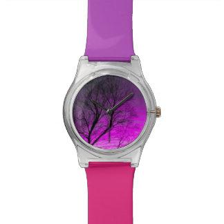 sueño del árbol relojes de pulsera