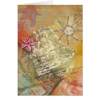Sueño del Caribe - tarjeta de felicitación