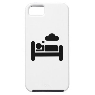 Sueño del caso del iPhone 5 del pictograma Funda Para iPhone SE/5/5s
