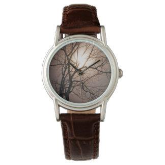 Sueño del claro de luna relojes de pulsera
