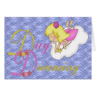 Sueño del día tarjeta de felicitación