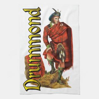 Sueño del escocés de Drummond del clan Toalla De Mano