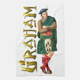 Sueño del escocés de Graham del clan Toalla De Mano