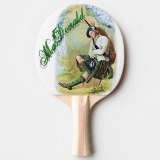 Sueño del escocés de MacDonald del clan Pala De Ping Pong