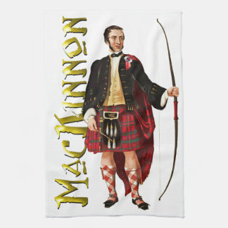 Sueño del escocés de MacKinnon del clan Toallas