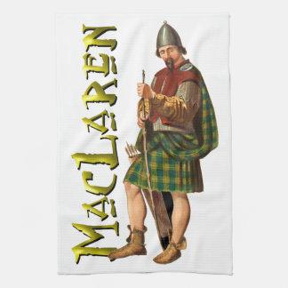 Sueño del escocés de MacLaren del clan Toallas De Cocina