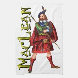 Sueño del escocés de MacLean del clan Toalla