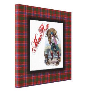 Sueño del escocés de MacRae del clan Impresión En Lona Estirada