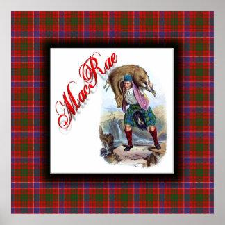 Sueño del escocés de MacRae del clan Póster
