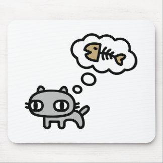Sueño del gato alfombrillas de ratones