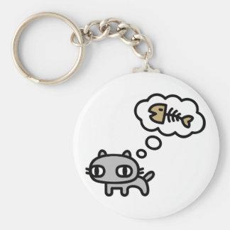 Sueño del gato llavero personalizado