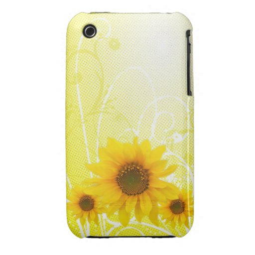 Sueño del girasol [iphone 3] Case-Mate iPhone 3 coberturas