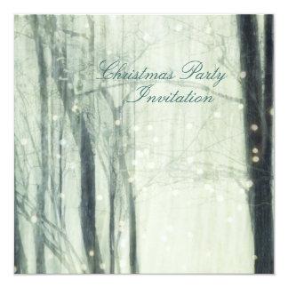 Sueño del invierno - invitación de la fiesta de