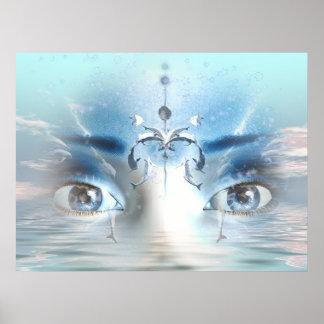 Sueño del océano póster