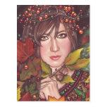 Sueño del otoño tarjeta postal