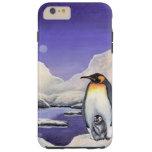 Sueño del pingüino funda resistente iPhone 6 plus