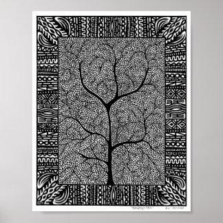 Sueño del poster del árbol