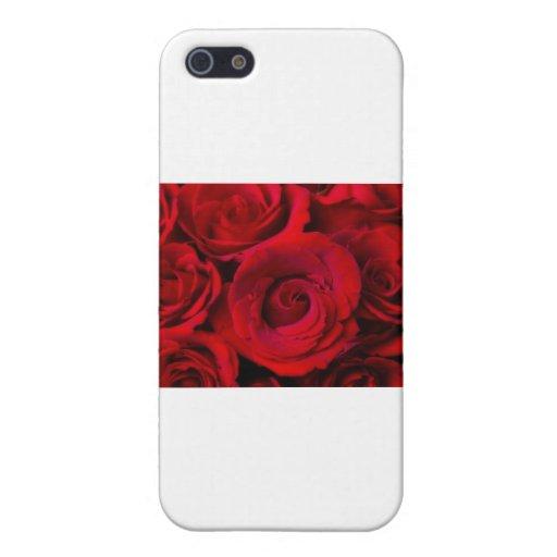 Sueño del ramo del rosa rojo iPhone 5 carcasa