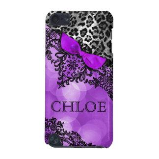 sueño del tacto de 311 iPod en leopardo y violeta  Funda Para iPod Touch 5G