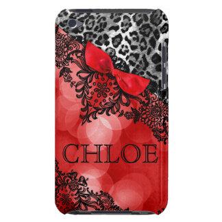 sueño del tacto de 311 iPod en rojo del leopardo y iPod Case-Mate Cárcasas