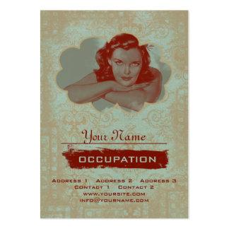Sueño del vintage - tarjeta de visita