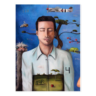 Sueño dentro de un sueño 2 tarjeta postal