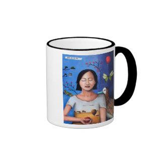 Sueño dentro de un sueño 3 tazas de café