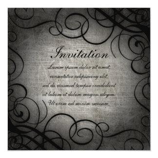 Sueño dentro del coordenadas ideales invitación 13,3 cm x 13,3cm