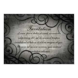 Sueño dentro del coordenadas ideales invitación 12,7 x 17,8 cm