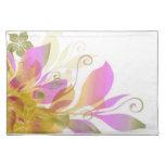 Sueño en las flores 3 mantel individual