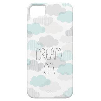 Sueño en las nubes soñadoras que ponen letras a ti iPhone 5 Case-Mate cárcasas
