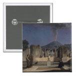 Sueño en las ruinas de Pompeya, 1866 Pin Cuadrada 5 Cm