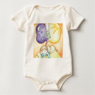 Sueño en un oscilación body para bebé