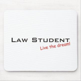 Sueño/estudiante de Derecho Alfombrilla De Ratones