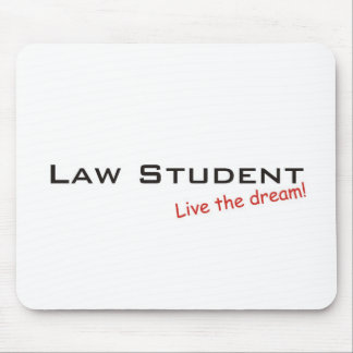 Sueño/estudiante de Derecho Tapete De Ratón