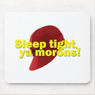 Sueño firmemente tapete de ratón