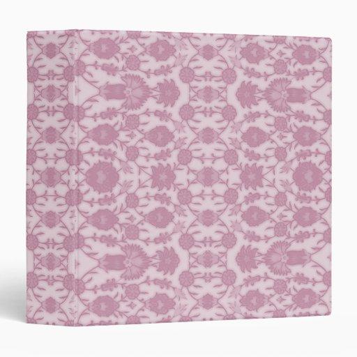 """Sueño floral en rosa carpeta 1 1/2"""""""