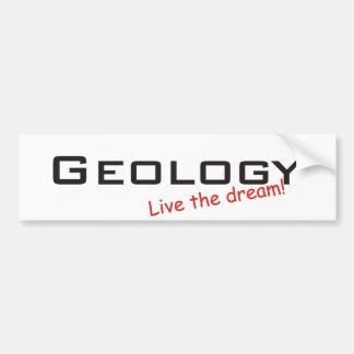 Sueño/geología Pegatina Para Auto