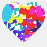 Sueño Pegatina De Corazón Personalizadas