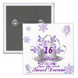 Sueño-Personalizar del dulce dieciséis Pins