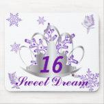Sueño-Personalizar del dulce dieciséis Alfombrilla De Ratones