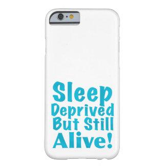 Sueño privado pero aún vivo en azul funda barely there iPhone 6