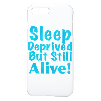 Sueño privado pero aún vivo en azul funda para iPhone 7 plus
