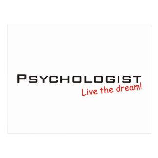 Sueño/psicólogo Tarjetas Postales