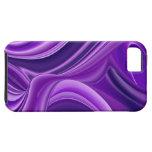Sueño púrpura, Arco iris-Arte abstracto de la Funda Para iPhone 5 Tough