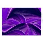 Sueño púrpura, Arco iris-Arte abstracto de la Tarjeta De Felicitación