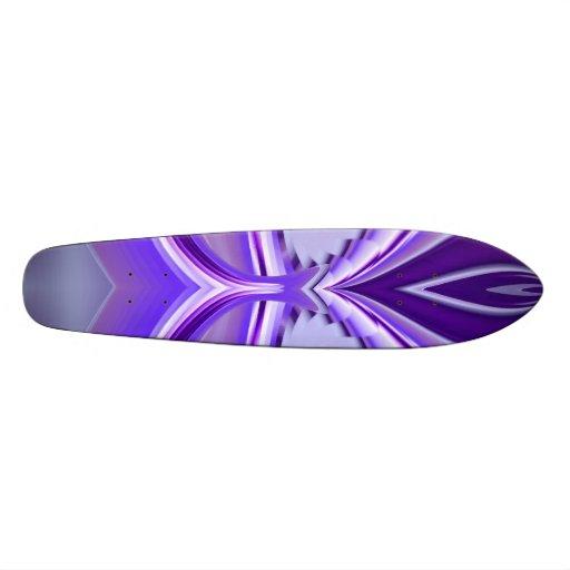 Sueño púrpura de la flor, Arco iris-Arte abstracto Monopatines Personalizados