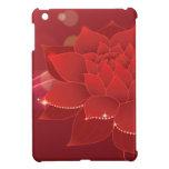 Sueño rojo de la flor iPad mini protectores