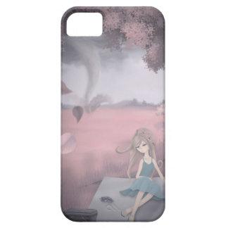 Sueño rosado del tornado iPhone 5 funda